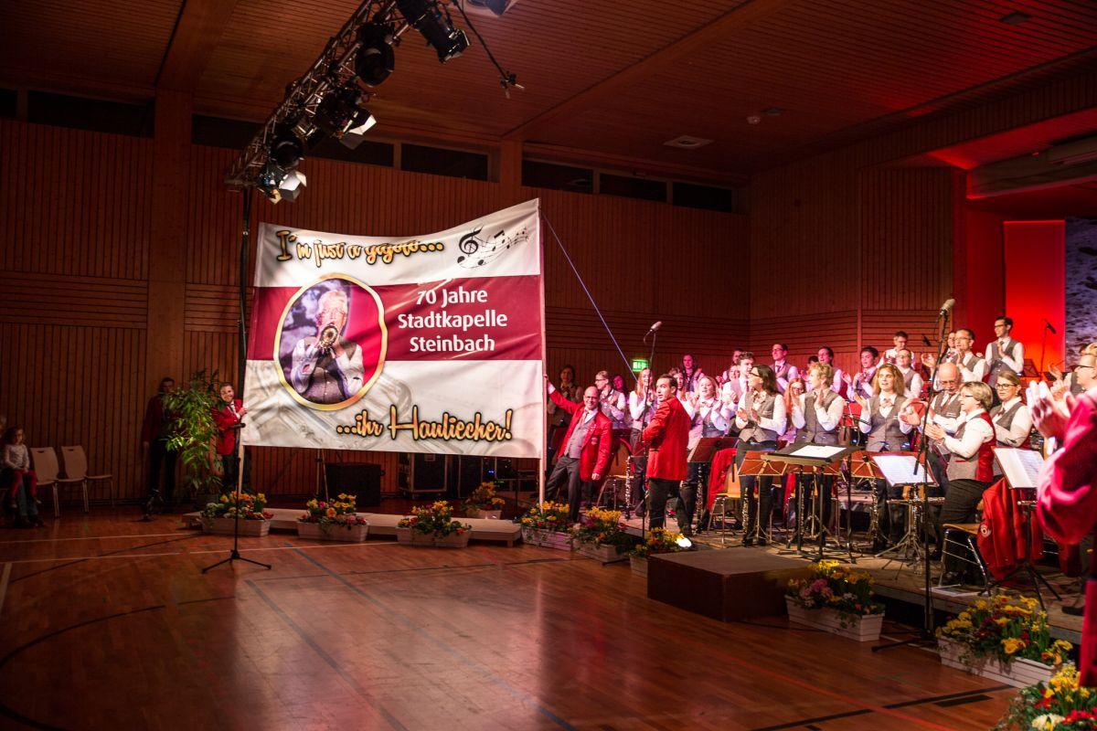 70 Jahre Stadtkapelle Steinbach – Danke Rolf