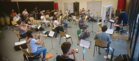 Stadtkapelle Steinbach nimmt Probenbetrieb wieder auf